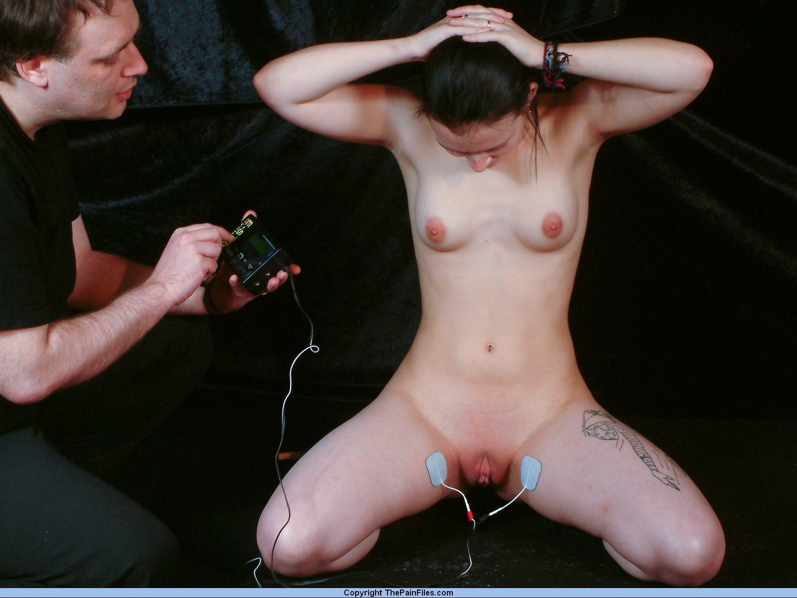 Секс пытки электро